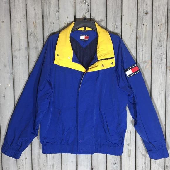 0c743165b Tommy Hilfiger Jackets & Coats | Mens Vintage 90s Windbreaker | Poshmark